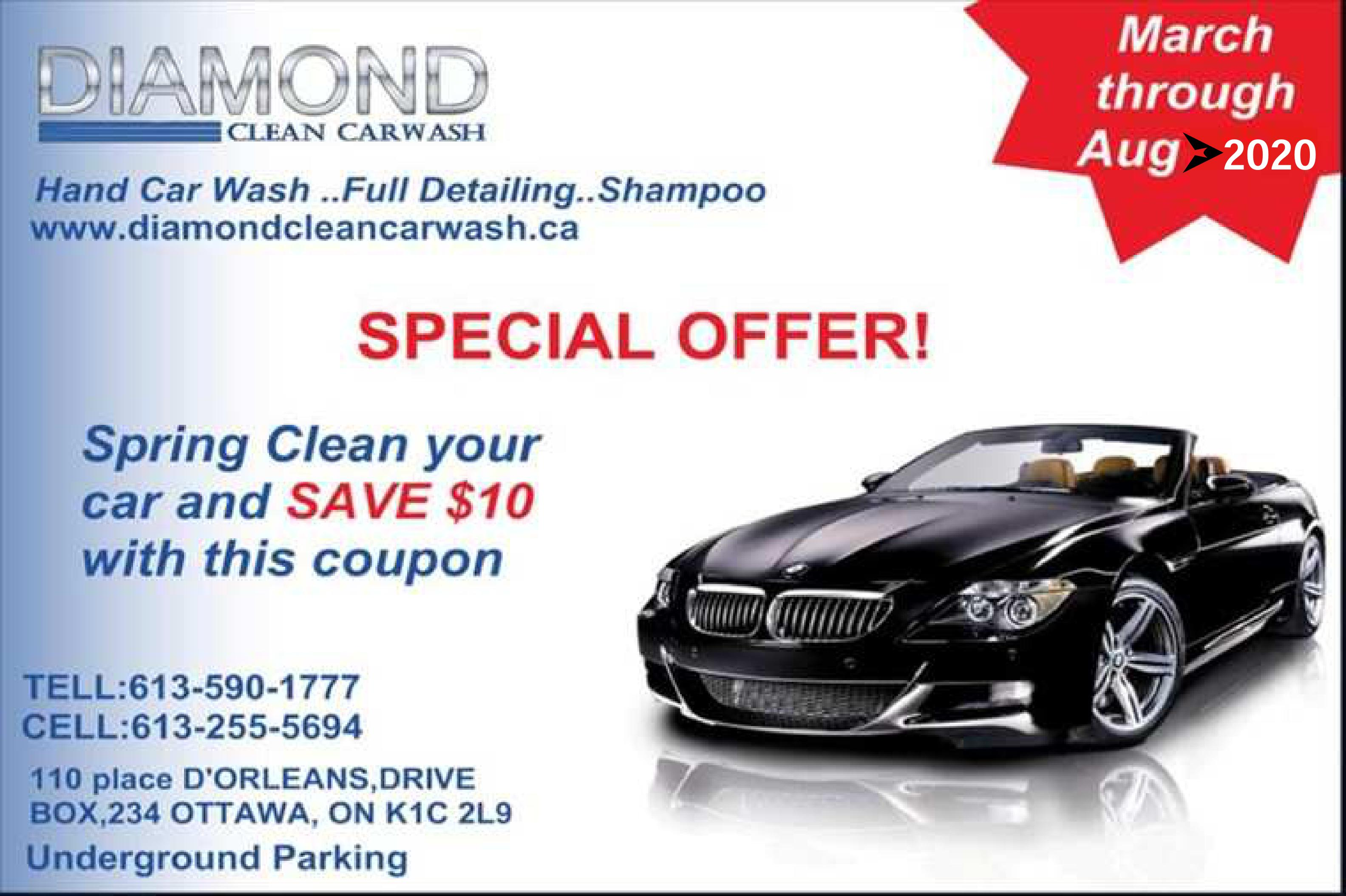 Diamond clean car wash orleans on ca k1c 2l9 new technology steam wash solutioingenieria Image collections